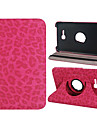 "Leopard Print 360-Degree Rotation Faux Leather Case for Samsung Galaxy Tab 3 Lite T110 7"" Tablet PC (Assorted Colors)"