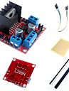 L298N Dual H Bridge Stepper Motor Driver Controller Board Module  and Accessories for Arduino