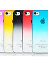 Transparente - iPhone 4/4S/iPhone 4 - Capa traseira ( Vermelho/Preto/Azul/Amarelo/Rosado , Policarbonato )