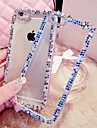 LADY   The Color Border Style  with Diamond Frame for iPhone 5 / 5S