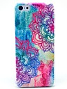 Fuer iPhone 5 Huelle Muster Huelle Rueckseitenabdeckung Huelle Mandala Hart PC iPhone 7 plus / iPhone 7 / iPhone SE/5s/5