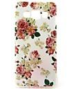 Pour Samsung Galaxy Coque Motif Coque Coque Arrière Coque Fleur PUT pour Samsung A3