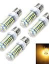 12W E14 / E26/E27 LED лампы типа Корн T 69 SMD 5730 1100-1200 lm Тёплый белый / Холодный белый AC 220-240 V 1 шт.
