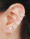 Ear Cuffs Alloy Rhinestone Simulated Diamond Birthstones Star Jewelry Wedding Party Daily Casual 1pc