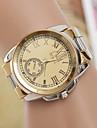 yoonheel Женские Модные часы швейцарцы Оригинальный рисунок Кварцевый Металл Группа Серебристый металл