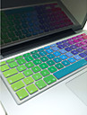 "coosbo® italiano colorido pele da tampa do teclado de silicone disposicao da UE para 13 ""/ 15"" / 17 ""ar mac macbook pro / retina / g6 imac"