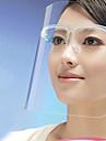 escudo cozinha cozinhar respingo rosto mascara de proteccao anti-oleo (cor aleatoria) 21 * 27,5 * tres centimetros