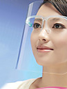 Kitchen Cooking Anti-Oil Splash Face Mask Face Protection Shield (Random Color) 21*27.5*3 cm