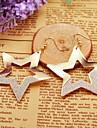 Earring Star / Geometric Hoop Earrings Jewelry Women Daily / Casual Alloy 1set Gold