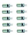3W G4 Точечное LED освещение 48 SMD 3014 150-180 lm Тёплый белый / Холодный белый AC 220-240 V 10 шт.