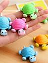 Tortoise Shaped Eraser removivel (cor aleatoria)