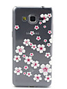 For Samsung Galaxy Case Transparent / Pattern Case Back Cover Case Flower TPU Samsung Grand Prime