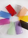 소니 xpeira의 Z3위한 초박형 0.3mm의 화려한 스크럽 PP 케이스 (모듬 된 색상)
