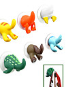 Cartoon Animal Tail Design Plastic Hook(Random Color)