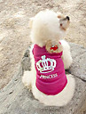 Cat / Dog Shirt / T-Shirt Rose Dog Clothes Summer Tiaras & Crowns Wedding / Cosplay