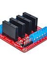 четыре для Arduino твердотельного реле (красный)