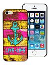 Live-Life and Anchor Design Aluminum Hard Case for iPhone 5/5S