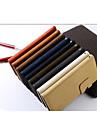 specialement concu cuir PU cas complete du corps pour iPhone 4 / 4S (couleurs assorties)
