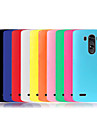 Для Кейс для LG Защита от удара Кейс для Задняя крышка Кейс для Один цвет Мягкий Силикон LG LG G3