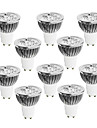 GU10 Spot LED 4 LED Haute Puissance 400-450 lm Blanc Chaud Blanc Froid Blanc Naturel Intensite Reglable AC 100-240 V 10 pieces