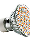 3W GU10 LED-spotlights MR16 60 SMD 3528 240 LM Varmvit AC 220-240 V