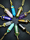 Women\'s Pendant Necklaces Crystal Crystal Alloy Fashion 7# 8# 9# 10# matte green Jewelry Daily Casual 1pc