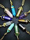 Женский Ожерелья с подвесками Кристалл Хрусталь Сплав Мода 7 # 8 # 9 # 10 # матовый зеленый Бижутерия Повседневные 1шт