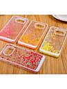 estilo de pequeno e puro e fresco material plastico amor para Samsung Galaxy S6