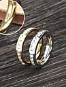 Персонализированные ювелирные изделия - Любовь - Кольца - Нержавеющая сталь - золото/серебро -