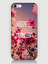 Pour Coque iPhone 6 / Coques iPhone 6 Plus Motif Coque Coque Arriere Coque Fleur Dur Polycarbonate iPhone 6s Plus/6 Plus / iPhone 6s/6