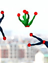 (5 PCS)Superman Spiderman Climbing Viscosity (Random Color)