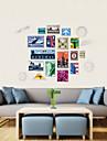 벽 스티커 벽 데칼 스타일의 개성 스탬프 PVC 벽 스티커