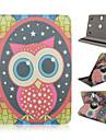глазастые совы картина вращение на 360 градусов высокое качество PU кожа с подставкой для случая 10-дюймовый универсальный планшет