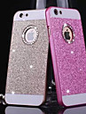 diamant bling glitter bakdekselet tilfellet med hull for iPhone 4 / 4S