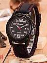 Hombre Reloj Cuarzo Reloj Deportivo Silicona Banda Reloj de Pulsera