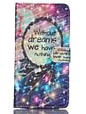 Для Samsung Galaxy Note Кошелек / Бумажник для карт / со стендом / Флип Кейс для Чехол Кейс для Слова / выражения Искусственная кожа