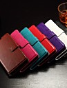 Flip Cover Support Card Slot Photo Frame Oily Leather Simple Pu Mobile Phone Shell for Hua Wei honor 7 Assorted Colors