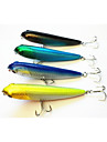 4pcs 100mm/13.7g Plastic Pencil Fishing Lures(Color Assorted)