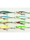 8pcs Hengjia Minnow Baits 2.1g 50mm  Fishing Lures
