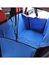 Perro Cobertor de Asiento Para Coche Mascotas Cestas Impermeable / Portatil Rojo / Negro / Azul / Marron / Gris Tejido