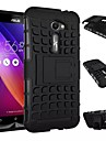 High Quality DROP Tire Lines Silicone Soft Case with Stand for ASUS Zenfone 2 ZE551ML