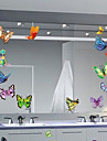 Multifunction Butterfly Shape PVC Decorative Stickers(9PCS/Set)(Random Color)
