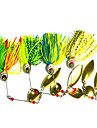4 pcs Hengjia Metal Spinner Baits 20.5g  Floating Fishing Lures