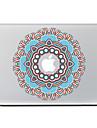 Circular Flower 10 Decorative Skin Sticker for MacBook Air/Pro/Pro with Retina Display