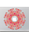 Circular Flower 9 Decorative Skin Sticker for MacBook Air/Pro/Pro with Retina Display