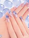 3шт же цвета скульптура, резьба акриловая пудра для ногтей полимер ногтей подсказки искусства строитель (30 г x3,3 цвет выбирает)