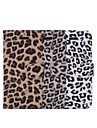 Leopard Print New Textile + TPU Full Body Cases Phone Cover with Stand and Card Slot for iPhone 6S