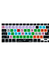 XSKN Logic Pro X 10 Shortcut Overlay Silicone Keyboard Cover for Macbook pro retina 13\'\' 15\'\' 17\'\'