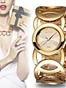 WEIQIN®Brand Luxury Crystal Gold Watches Women Fashion Bracelet Quartz Watch Shock Watreproof Wristwatch