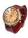 Watch Women Genuine Leather Band Rhinestone Quartz Analog Wrist Watch Gift Idea (Assorted Colors)